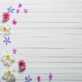 Фотофон цветы FL111